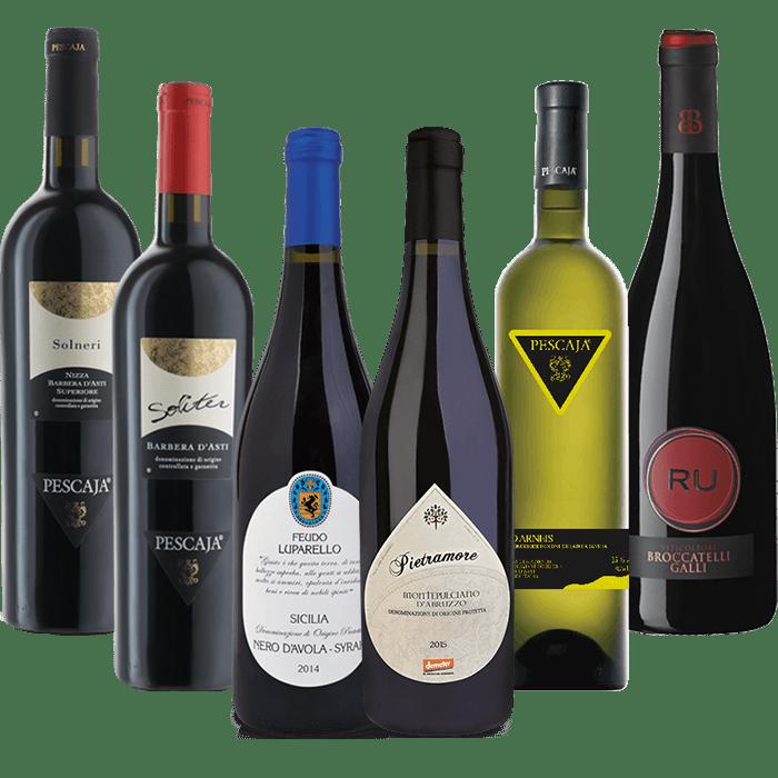 dure luxe italiaanse rode wijn