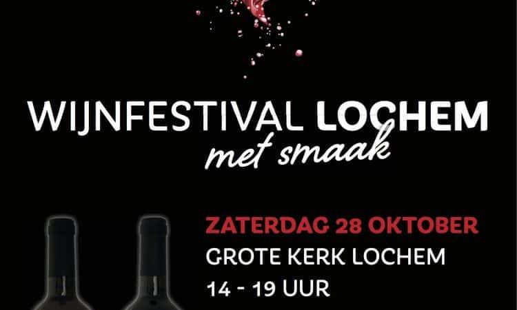 Wijnfestival Lochem 2017 poster | Wijn van Helène