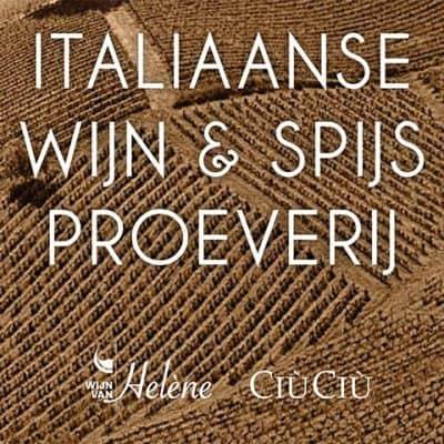 wijnproeverij vrijdag 13 juli | Wijn van Helene | Ciu Ciu | italiaanse wijn | biologische wijn