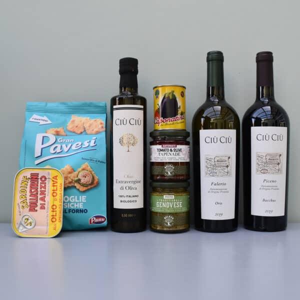 cadeaupakket ciu ciu | wijn van helene | luxe cadeaupakket | luxe wijncadeaus | wijnpakket | luxe cadeaupakketten